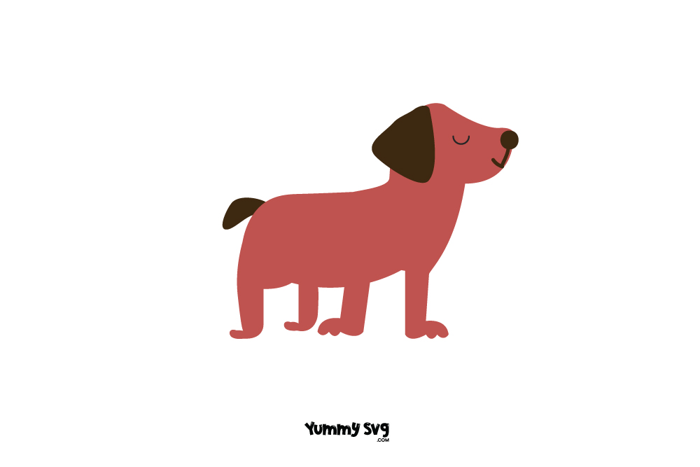 Red Dog Free Svg