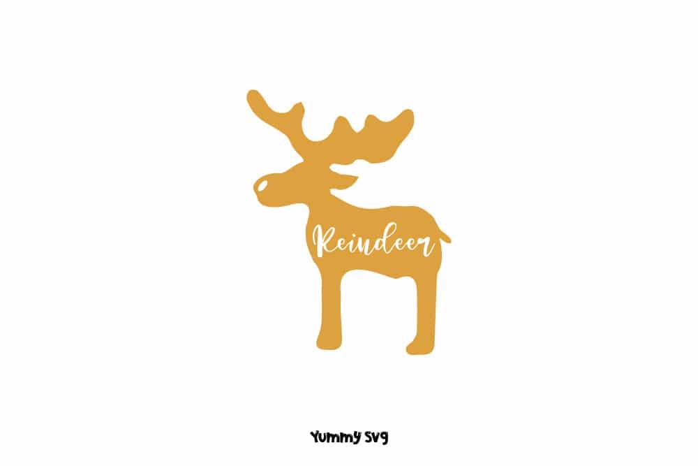 Reindeer-Free-Christmas-Svg